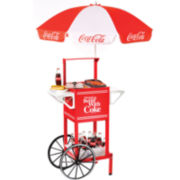Nostalgia Coca-Cola® Series Hot Dog Cart
