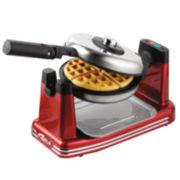 Nostalgia Retro Flip Waffle Maker