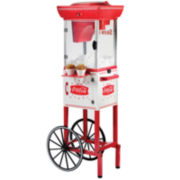 Nostalgia Coke Snow Cone Cart