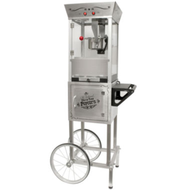 jcpenney.com | Nostalgia SPC700SS 53-Inch Tall Commercial 6-OunceKettle Stainless Steel Popcorn Cart