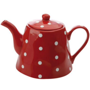 jcpenney.com | Maxwell & Williams™ Sprinkle Polka Dot Teapot