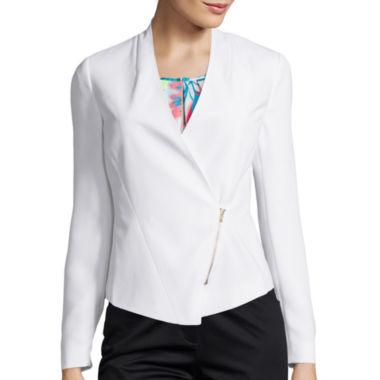 jcpenney.com | Worthington® Zip Blazer - Tall