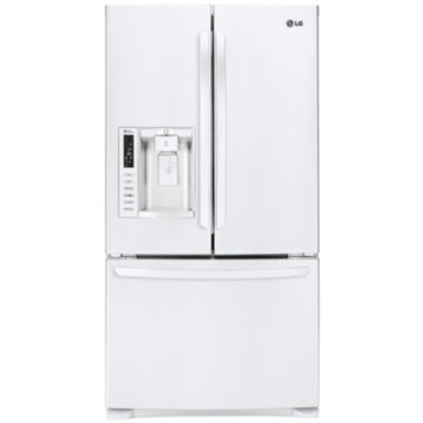 jcpenney.com | LG ENERGY STAR® 26.8 cu. ft. Ultra Large Capacity3-Door French Door Refrigerator with Smart Cooling