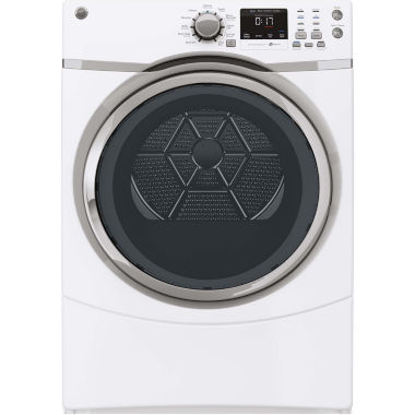 jcpenney.com | GE® 7.5 Cu. Ft. Capacity Front-Load Dryer with Steam