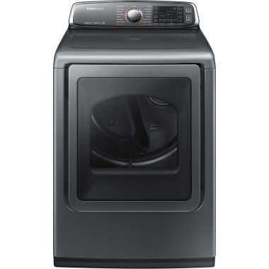 jcpenney.com | Samsung ENERGY STAR®  7.4 Cu. Ft. Large CapacityGas Dryer with Multi-Steam