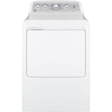 jcpenney.com | GE® 7.2 cu. ft. Capacity Aluminized Alloy Drum Electric Dryer With Sensor Dry
