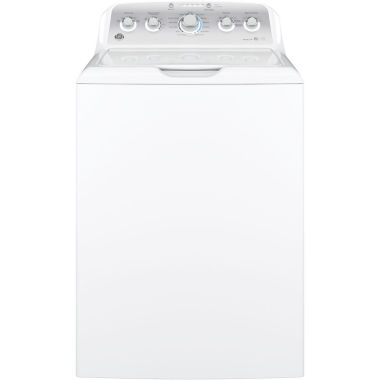 jcpenney.com | GE® ENERGY STAR®  4.2 DOE cu. ft. Stainless Steel Capacity Washer