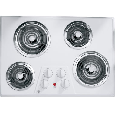 "jcpenney.com | GE® 30"" Built-In Electric Cooktop With 4 Burners"