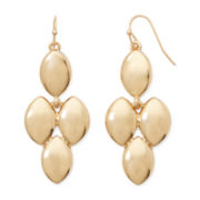 Liz Claiborne® Gold-Tone Chandelier Earrings