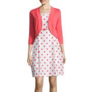 R&K Originals® Polka-Dot Jacket Dress