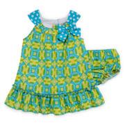 Bonnie Jean® Sleeveless Medallion Dress - Baby Girls newborn-24m