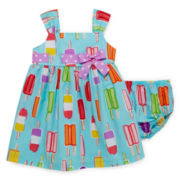 Bonnie Jean® Sleeveless Ice-Cream Dress - Baby Girls newborn-24m