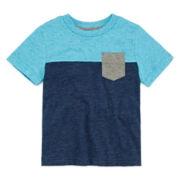Arizona Short-Sleeve Colorblock Tee - Toddler Boys 2t-5t