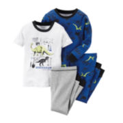 Carter's® 4-pc. Dino Pajama Set - Baby Boys newborn-24m