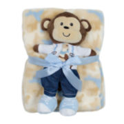 Cutie Pie 2-pc. Blanket and Monkey Doll Set