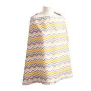 Trend Lab® Buttercup Zigzag Nursing Cover