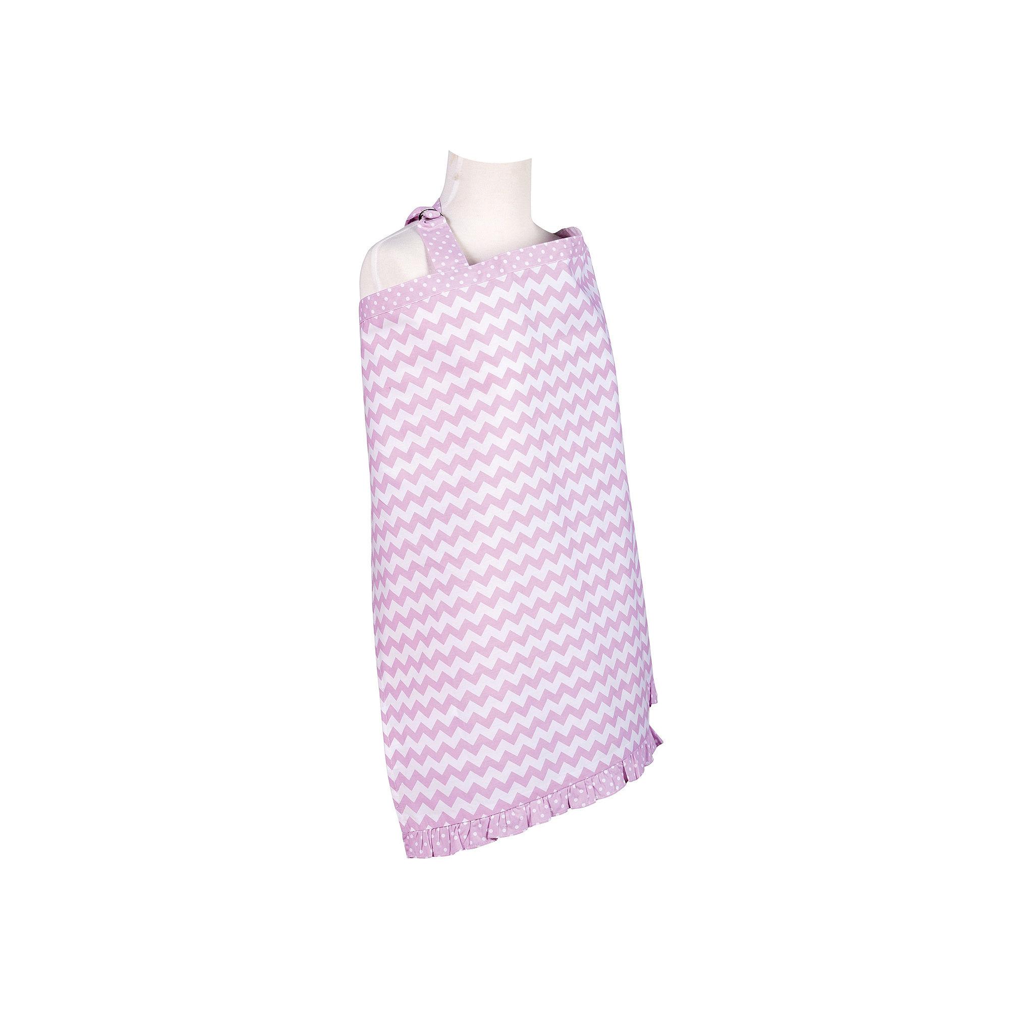 Trend Lab Orchid Bloom Chevron Nursing Cover plus size,  plus size fashion plus size appare