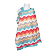 Waverly® Baby by Trend Lab® Nursing Cover - Pom Pom Play Chevron