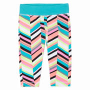 Okie Dokie® Yoga Capri Leggings - Preschool Girls 4-6x