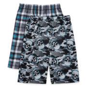 Jellifish 2-pk. Skull Pajama Shorts - Boys 4-16