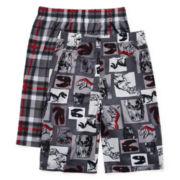 Jellifish 2-pk. Dino Pajama Shorts - Boys 4-16