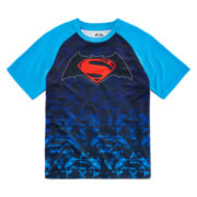 Batman vs. Superman Raglan Logo Tee - Boys 8-20