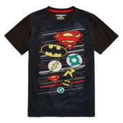 Justice League Short-Sleeve Logo Tee - Boys 8-20