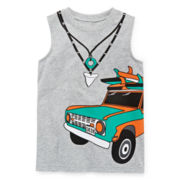 Okie Dokie® Graphic Muscle Tee - Preschool Boys 4-7