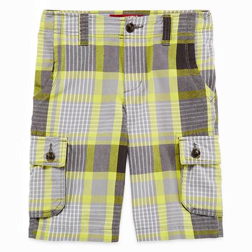 Arizona Plaid Cargo Shorts - Boys 8-20