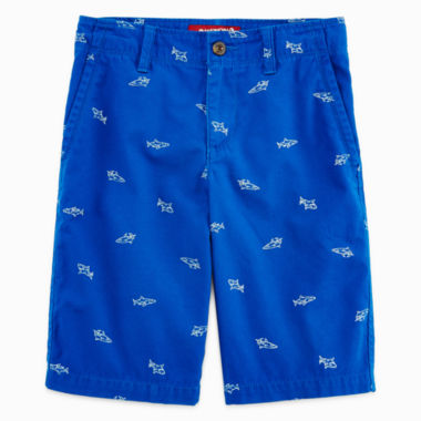 jcpenney.com | Arizona Print Chino Shorts - Boys 8-20, Slim and Husky