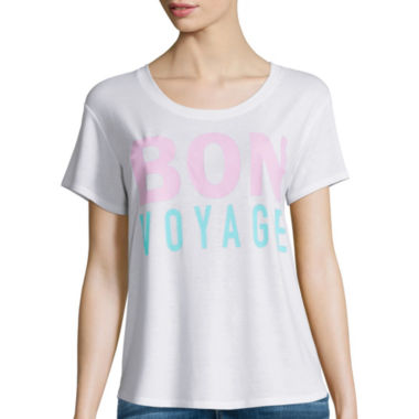 jcpenney.com | I 'Heart' Ronson® Short-Sleeve Bon Voyage Tee