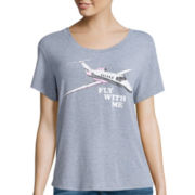 I 'Heart' Ronson® Short-Sleeve Come Fly Tee