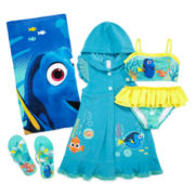 Disney Collection Dory Swimsuit, Beach Towel, Cover-up or Flip-flops