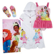 Disney Princess Swimsuit, Beach Towel, Cover-up or Flip-flops