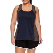 Xersion™ Double Colorblock Tank Top or Colorblock Bra - Plus