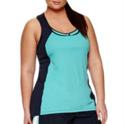 Xersion™ Double Colorblock Tank Top - Plus