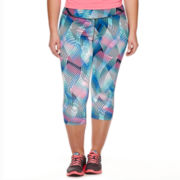 Xersion™ Graphic Capris - Plus