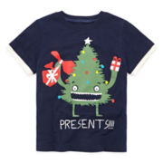 Okie Dokie® Graphic Tee - Toddler Boys 2t-5t