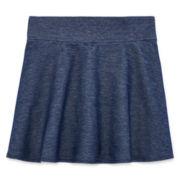 Total Girl® High-Waist Skater Skirt - Girls 7-16 and Plus