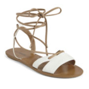 Call It Spring™ Caowien Lace-Up Flat Sandals