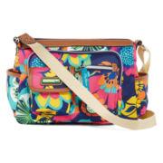 Lily Bloom Libby Mid-Crossbody Pocket Hobo Bag