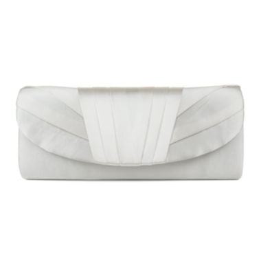 jcpenney.com | Gunne Sax® by Jessica McClintock Satin Tuxedo Pleat Clutch
