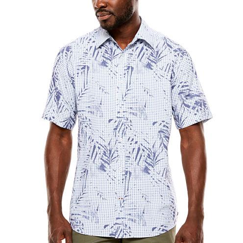 ARGYLECULTURE Print Button-Front Shirt