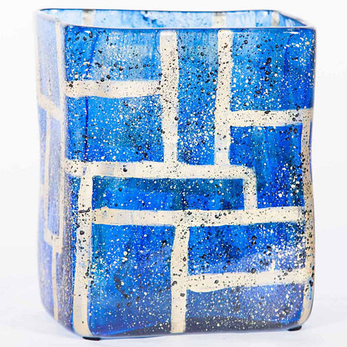 """Knox And Harrison 10"""" Square Vase"""
