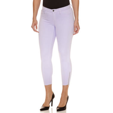 jcpenney.com | Bold Elements Ankle Zip Skinny Pants