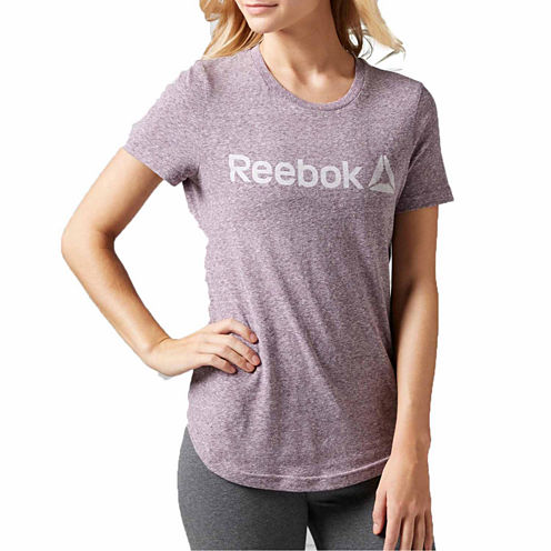 Reebok Long Sleeve Crew Neck T-Shirt