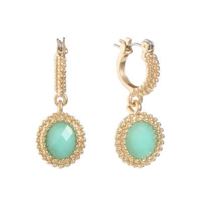 Monet Jewelry Monet Jewelry Green Drop Earrings 9jv2KY2G