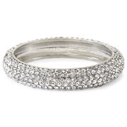 Vieste Pavé Crystal & Silver-Tone Hinged Bracelet