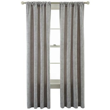 Royal Velvet Serene Window Curtain Panel