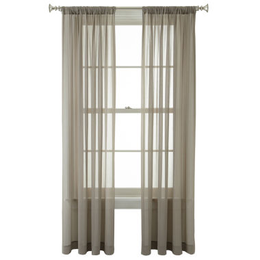 jcpenney.com | Royal Velvet® Lantana Rod-Pocket Sheer Panel